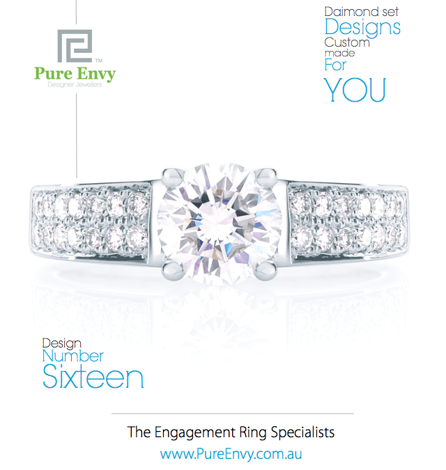 Diamond Engagement Ring #16, by Pure Envy