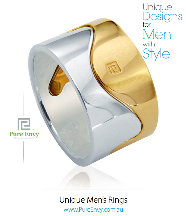 Men's ring #16 by Pure Envy