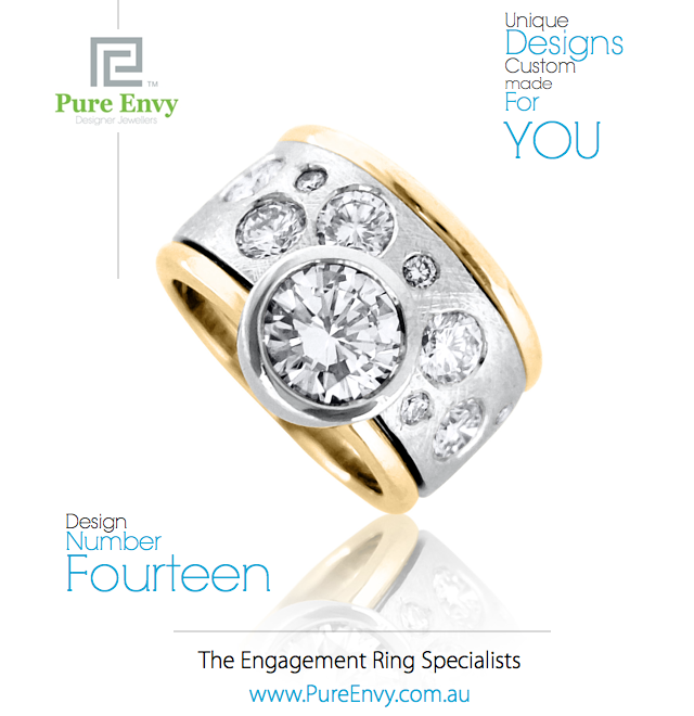 Unique Engagement Ring #14, by Pure Envy