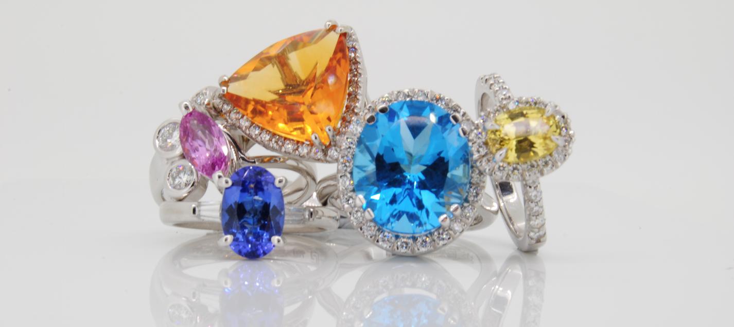 coloured-gemstone-rings-by-www.pureenvy.com.au-designer-jewellers
