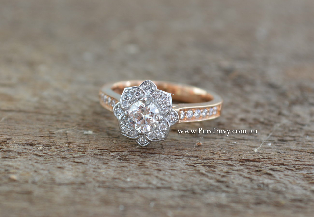 beautiful la filigree ring unique flowery rings engagement s jasmine silver of flower luxury wedding idea band
