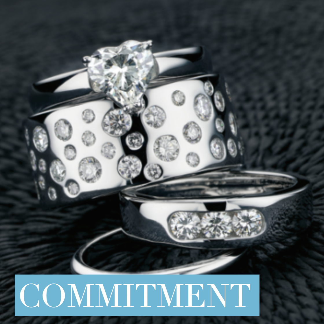 Image of Pure Envy Commitment Rings