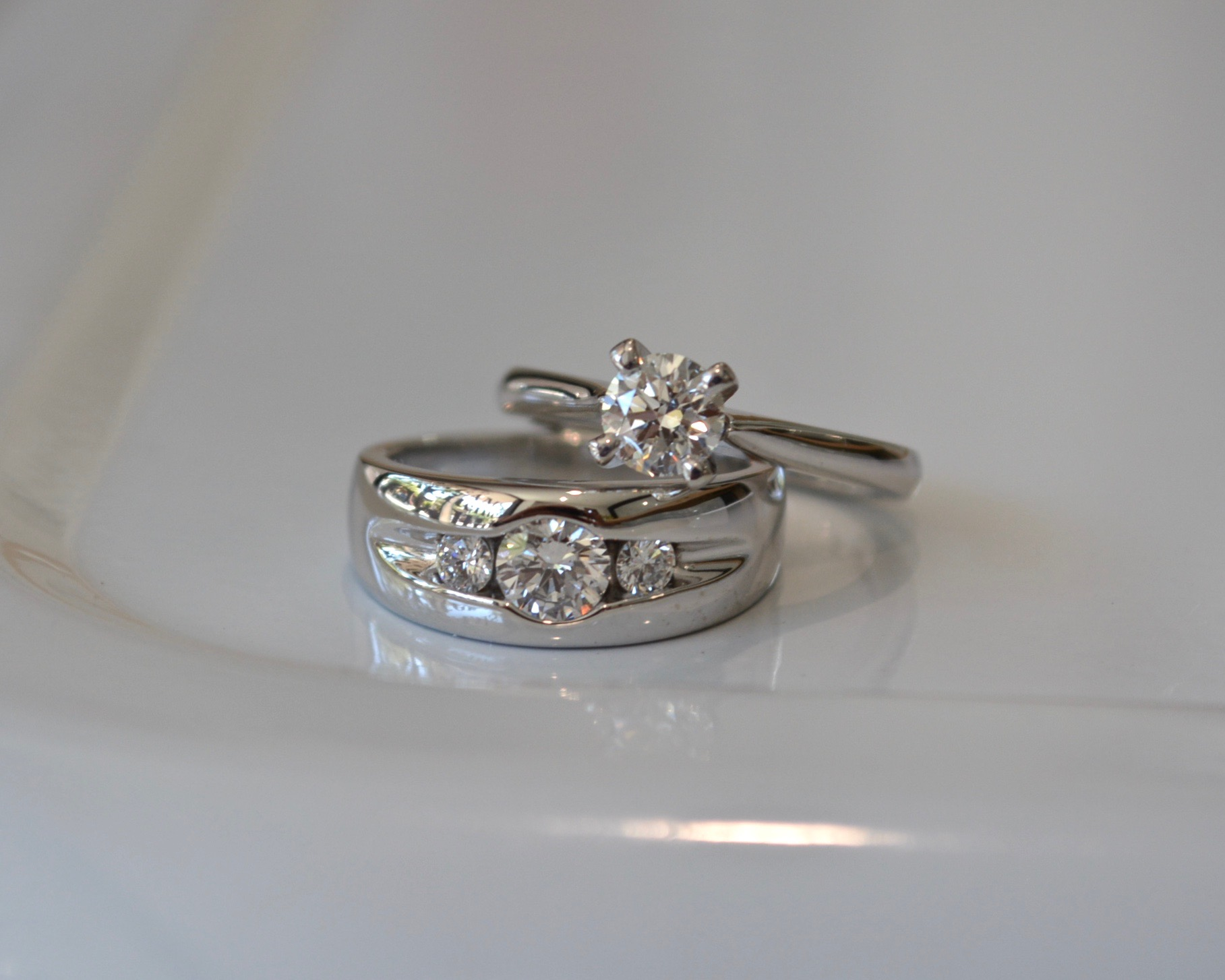 Pure Envy trilogy and round solitaire