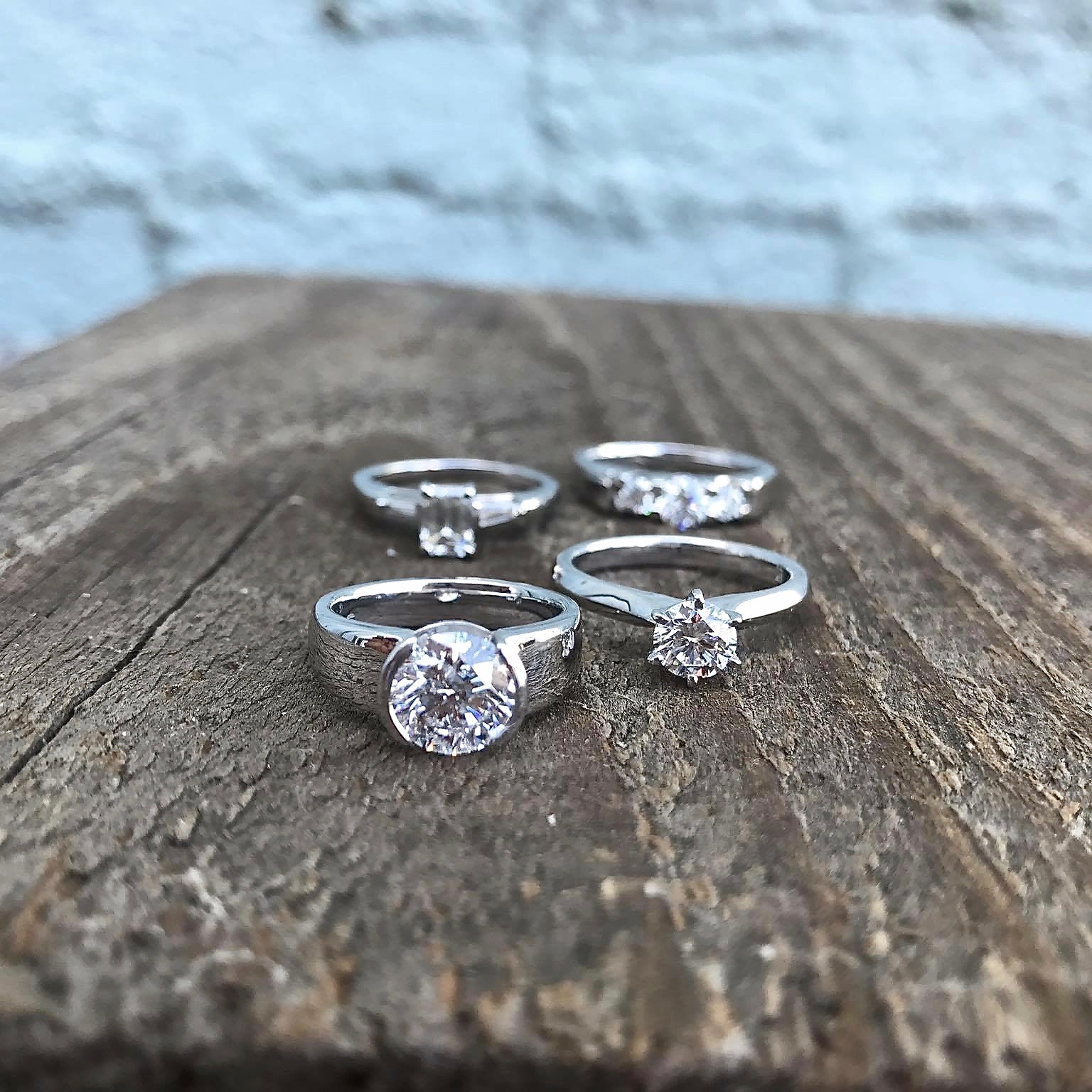 Engagement Rings custom made by pure envy