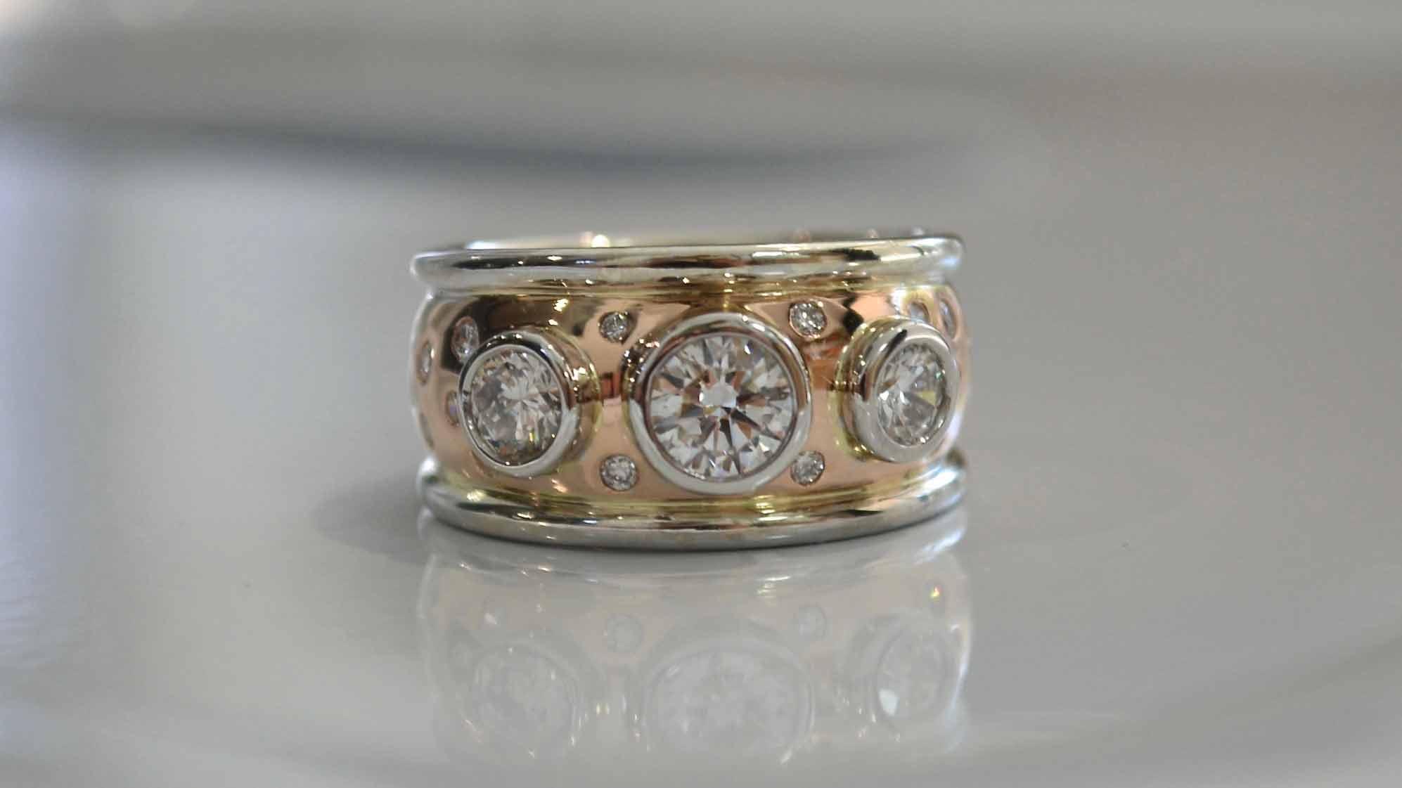 diamond rings wedding