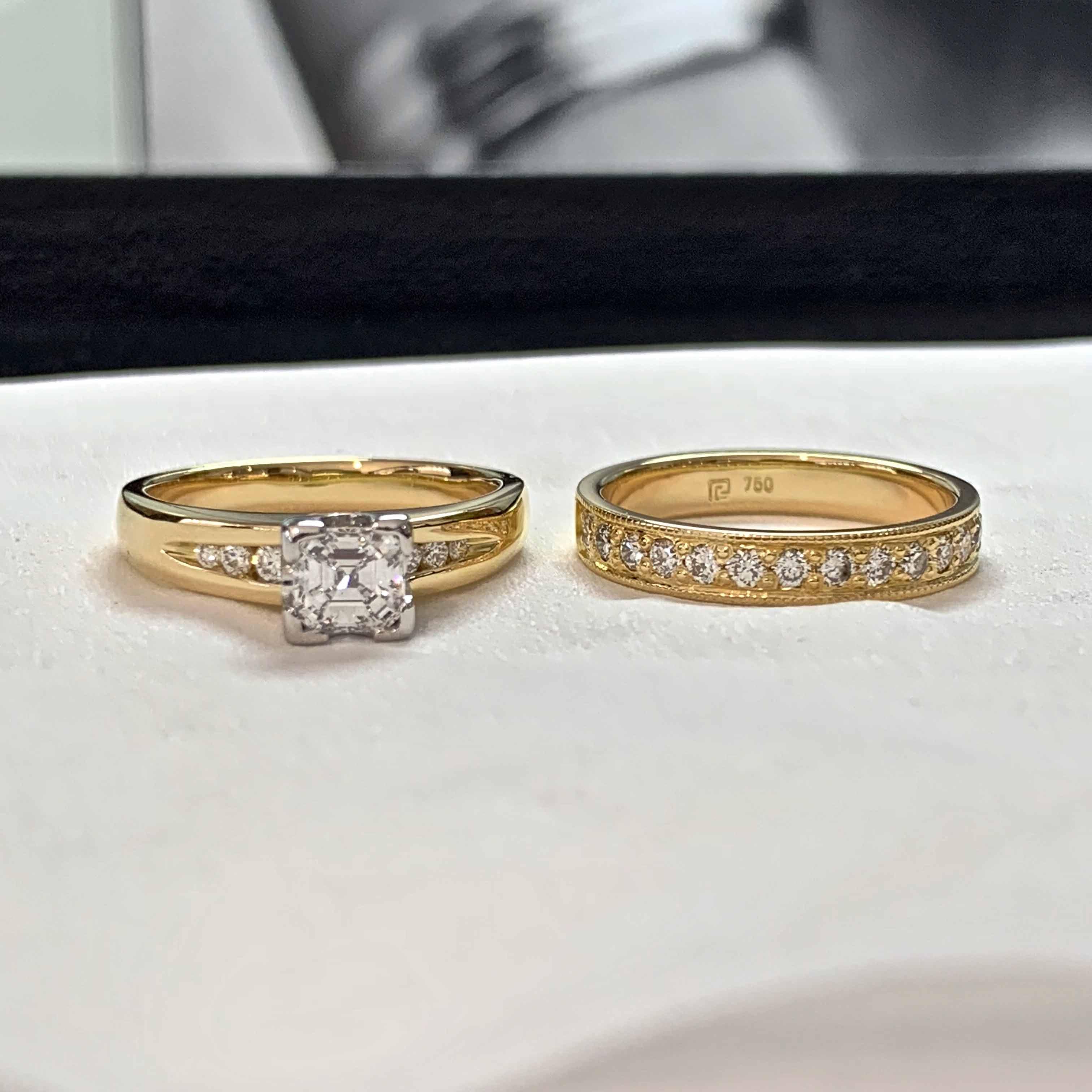 diamond ring marquise