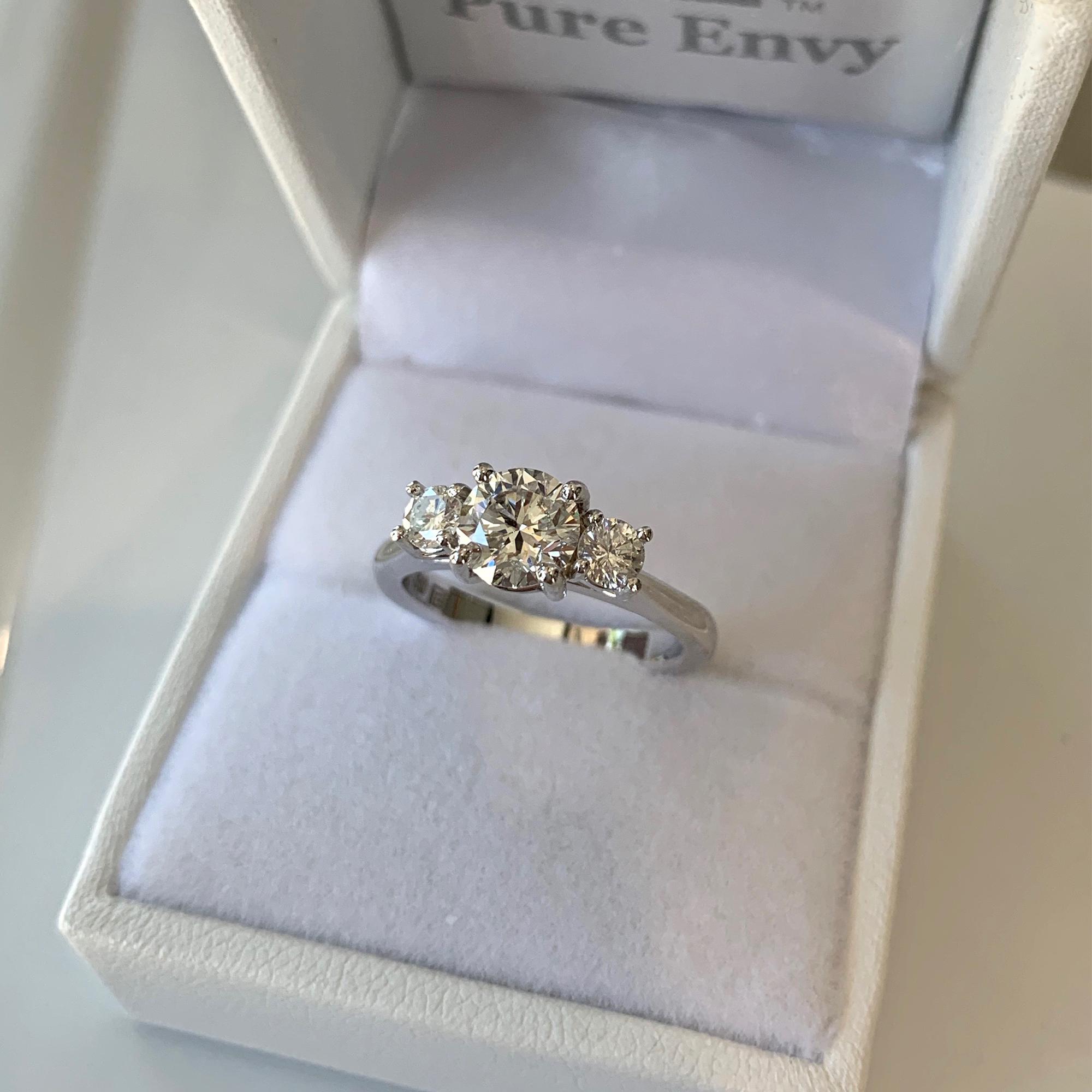 3 stone engagement rings adelaide