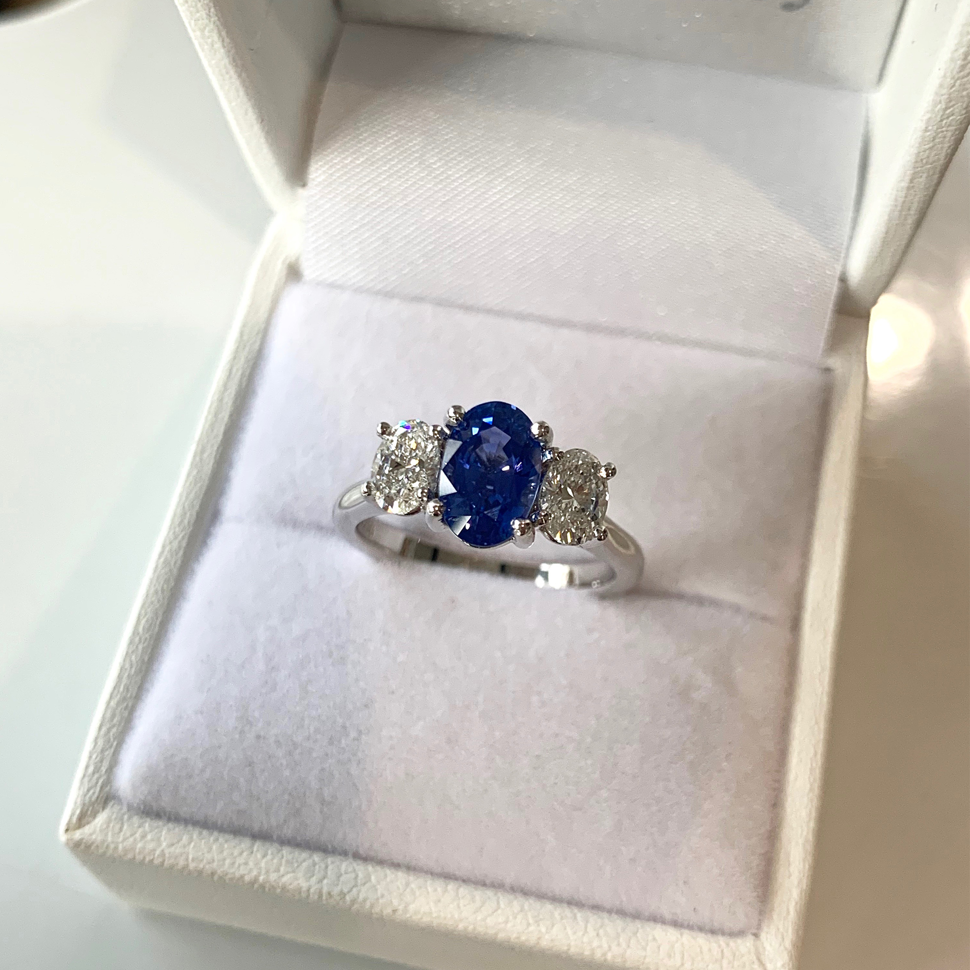 oval diamond engagement ring adelaide